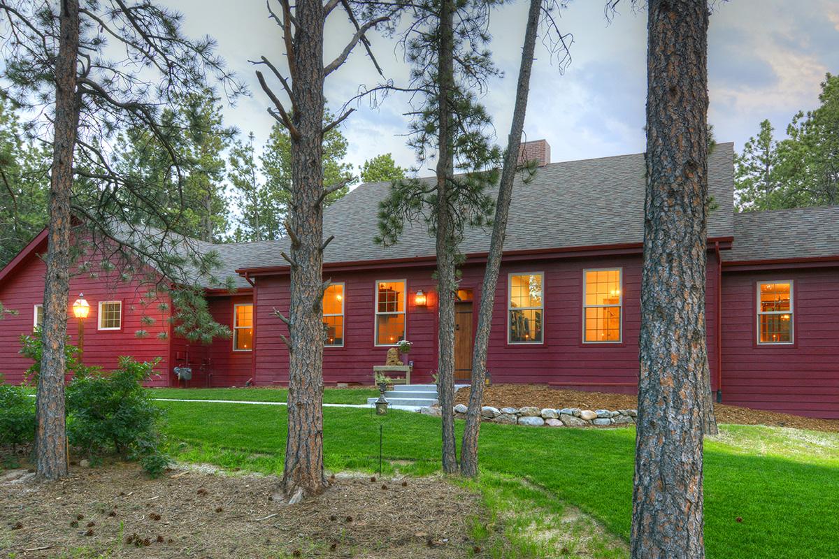 colorado cape cod style home