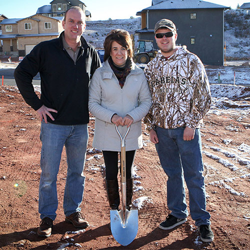 New Custom Home in Mountain Shadows – Overturf Residence
