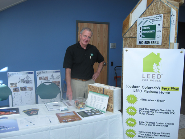 Ken Matthews, our associate with Building Alternatives, Inc.