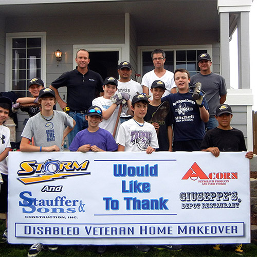 Home Makeover for Colorado Disabled Veteran