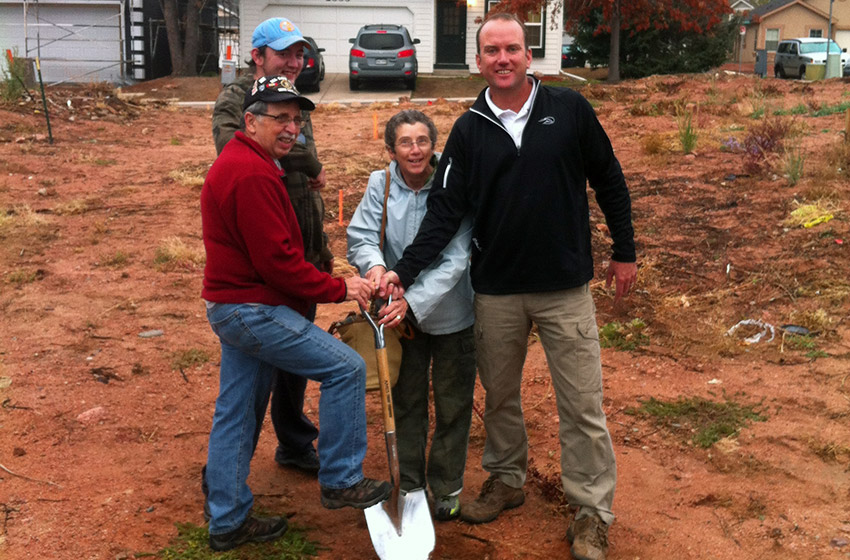 New home in Mountain Shadows breaking ground