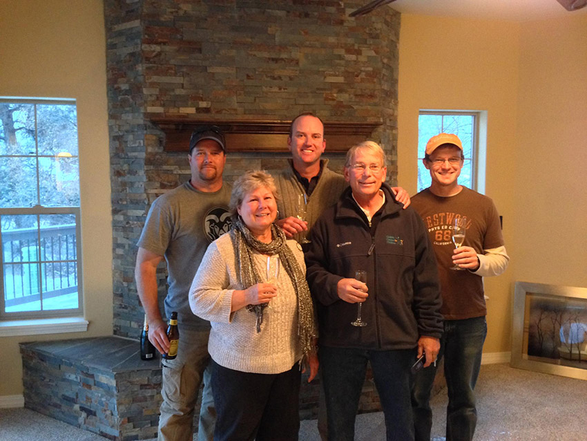 Stauffer & Sons new custom home